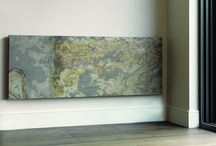 CLIFF radiators / Natural stone radiators - electric or hydronic/central heating