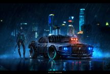 Sci fi and fantasy art