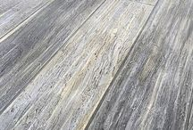 Faux wood concrete