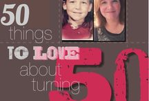 50 things about being 50