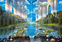 Heaven & New Earth / Artistic representations of Christians' beautiful eternal home / by Barbara Richman