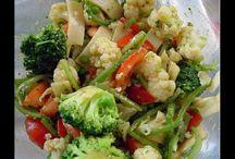 Saladas e afins