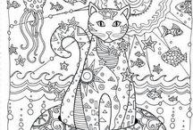 Cats - art, drawings, doodles, prints