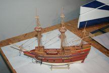 My Hobby - Mayflower / ship model