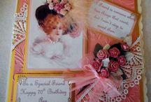 Handmade Shabby Chic/Vintage Cards by Card Art Kilcoole