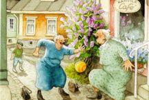весёлые старушки