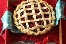 Pie / Cherry Apple Pumpkin Blueberry Crisp Pie Crust Baking Pie Pecan Walnut Coconut Creme Lemon
