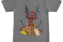Deadpool / Collection of Deadpool art, memes and shirts.