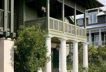 Архитектура / Великолепные идеи для экстерьера вашего загородного дома или усадьбы.