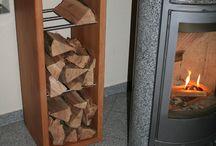 Regale Shelves / Interessante Kombinationen aus Holz, Edelstahl, Glas