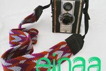 einaa correas para cámaras / einaa produce correas para cámaras en telar egipcio y técnica wayuu. Para contactarnos escribe a einaa2014@gmail.com