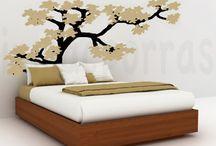 Cabeceros / ¿Buscas una manera original, sencilla y económica de darte un toque especial al cabecero de tu dormitorio? Aquí tienes algunos ejemplos para todas las edades