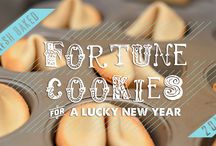 love Fortune Cookies!!!!!! / I have always loved fortune cookies you get in chinese restaurant, so one day, i just decided to make them on my own. They were soo awesome!! I think i created a monstrum... :D