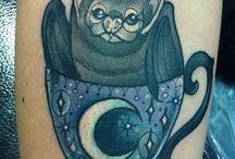 Tatuaggi a forma di pipistrello
