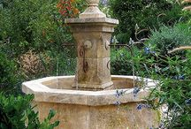 Garden Collection / Exquisite Surfaces lifelong relationships with artisans of Provence enable us to produce a line that is essential in creating the ethereal Provencal garden. This includes fountains, benches, tables, pots, pedestals, urns, and troughs to name a few.