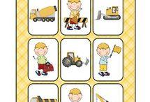 Construction theme / by Dacia Daniel