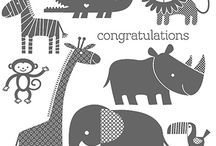 Zoo Bablies (April 20, 2015) / Stampin' Up! Zoo Babies, stamp set, greeting cards, craft projects