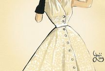 Fashion Illustrations! (vintage)