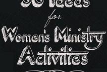Brainstorm: Women's ministry