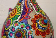 calabazas pintadas