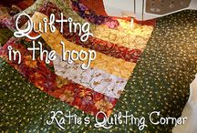 Quilting in the hoop (YES)