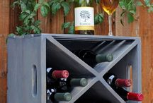 Wine storage holders