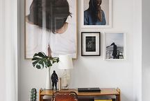 Living with Art / A place to find a variety of ways to display artwork in your home