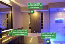 Ambientes LED / Os ofrecemos algunas propuestas decorativas sobre qué productos usar para iluminar vuestra casa. http://www.barcelonaled.com/content/12-ambientes