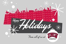 'Staching through the Snow / Happy Holidays from the Rebels / by UNLV Athletics