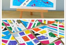art activities for children / planing fun, creative art activities for children