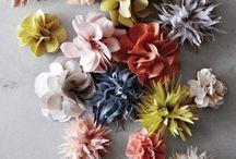 cinto com flores