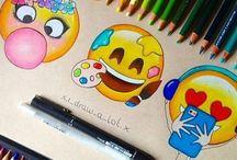 dibujos futuros de emoji