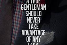 Being gentelmen