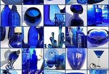 <3 cobalt blue  / by Arcy Valdez Wall