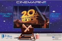 Cinemarine Turgutreis Yazlık Sinema 31 Mayıs'ta Yaza Merhaba Diyor.