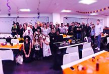 Halloween Antics at BI WORLDWIDE / Our creepy antics over Halloween, including our charity Halloween themed Night of the Living quiz night, with ghoulish treats and spirited questions. We raised £160 which will go to our chosen charity, Children are Butterflies. All the left over food was donated to The Soup Kitchen.
