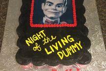 Goosebumps cake & party ideas