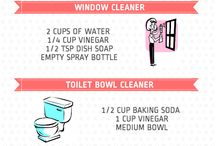 Cleaning / Non toxic homemade cleaning products