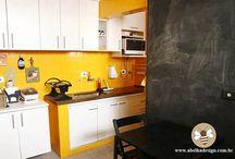 Yellow kitchen /Sárga konyhák