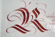 calligraphie / zentangle / géométrie