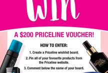 Treat yo' self / For the Priceline Australia wish list competition