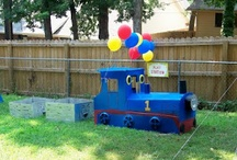 Thomas the Train Birthday Party Ideas! / by Cindy McGregor