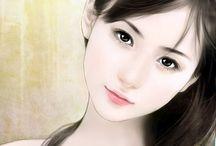 art female character