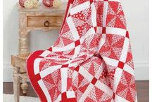 Quilt Red and White
