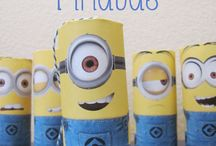 Minion party ideas / Twins' birthday party