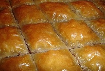 Greek Sweets / A selection of authentic and delicious Greek sweets.