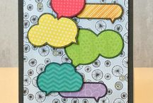 Cards: Word Bubbles