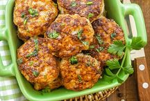 Recipes / Meatballs with lemon and Parmesan n