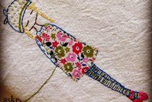 Embroidery work / by Denna Clark