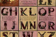 Alphabets + Letters